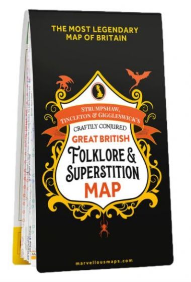 ST&G's Craftily Conjured Great British Folklore And Superstition Map