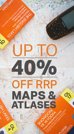 40% Off Maps & Atlases