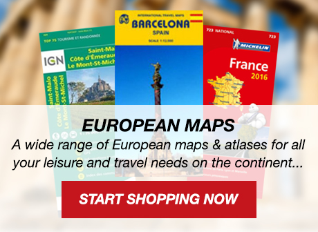 European Maps and Atlases - IGN, Michelin etc